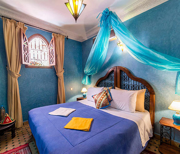 R servation riad de charme marrakech chambres riad bab for Chambre d artisanat marrakech