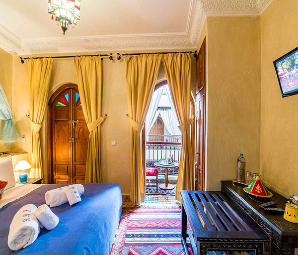 R servation riad de charme marrakech chambres riad bab for Reservation de chambre